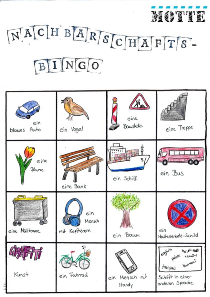 Nachbarschafts-Bingo