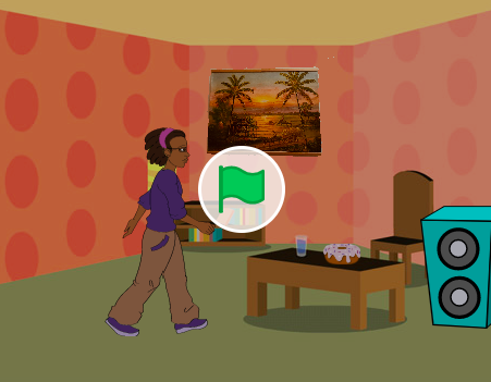 Screenshot Jeromes Spiel